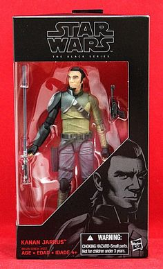 "Kanan Jarrus Star Wars the Black Series Rebels 6"" Action Figure #19 Disney Toy #Hasbro"
