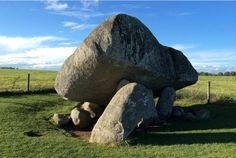 Brownshill portal tomb,  Co. Carlow,  Ireland