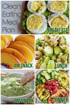 Enjoy today's #cleaneating and #weightloss meal plan! Click pin for more daily clean eating meal plans!