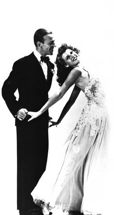 Fred Astaire and Rita Hayworth...what Fabulous Dance Team!                                                                                                                                                      More