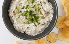 Onions are loaded with umami flavor, as are anchovies, mushrooms, and Worcestershire sauce. Together, they make this dip especially hard to resist.