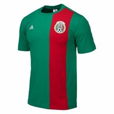 adidas Men's Mexico Tee (Large and XL only)