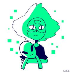 Peridot plus Alien