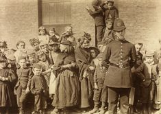 The Crowd waiting to see a policeman's funeral, Lambeth, 1892. by Paul Martin -Martin was a pioneer in the use of the hidden camera. He carried a spy camera, wrapped in brown paper, that was tucked under his arm and disguised as a parcel