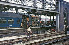 The 1972 Chester Rail Crash - Cheshire Live Chester City, Chester Cheshire, Train Room, Abandoned Train, British Rail, Diesel Locomotive, Trains, Derby, Transportation