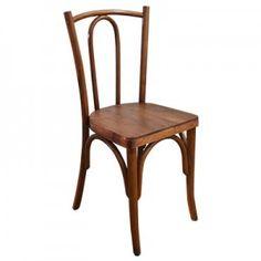 Cadeira Austríaca Natural 0,37 x 0,35 x 0,84 m