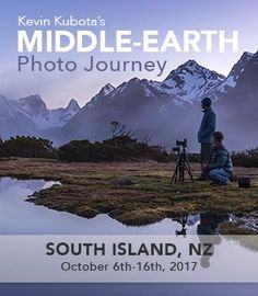 This 11-day New Zealand South Island photo adventure with Kevin Kubota will highlight the best of New Zealand's unspoilt landscape. Sample fine food and wine as we take you on a photo journey through the land of the long white cloud. We'll visit ancient forests and sweeping plains, crystal turquoise lakes and rugged snow-capped mountains ringed by glaciers.