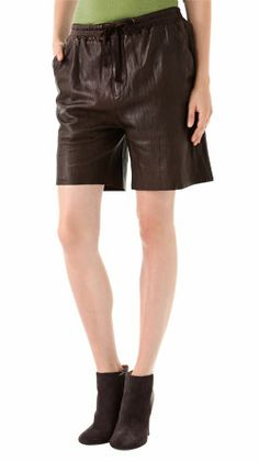 26ec7dac 75 Best Leather Shorts images in 2014 | Black, brown, High waisted ...