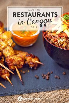 One of the best parts of travel is trying new food! Here are the restaurants in Canggu not to missed!