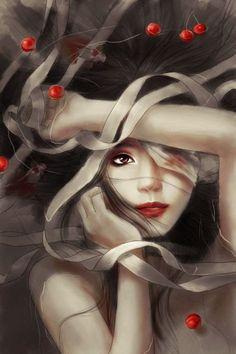 el arte digital de zhang xiao bai parte2