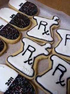 Cookies for graduation parties!