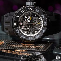 Richard Mille RM025 - The Ultimate Diver's Tourbillon Chronograph - WATCH ANISH