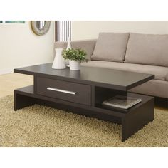 Almost every modern interior house has a coffee table design for the living room . This piece of furniture can be used for tea drinking or . Stylish Coffee Table, Diy Coffee Table, Coffee Table Design, Centre Table Living Room, Center Table, Dining Room, Coffee Table Overstock, Sofa End Tables, Furniture Deals