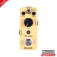Aliexpress.com : Buy New Mooer acoustikar guitar Pedal acoustic stompbox 3 Working Modes: Piezo/Standard/Jumbo free shipping  on Feier MUSIC. $88.00