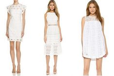 Crochet and lace dresses