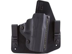 The Ruger SR9C IWB Hybrid Holster provides the best combination of comfort and fast deployment for concealed carry. That's since each of these holsters are accuracy formed for your specific gun and constructed by hand.