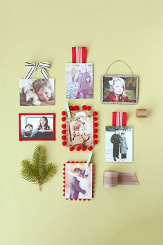 Gifts For Parents Diy Photo Ornaments 70 Ideas Marco Diy, Diy Photo Ornaments, Diy Foto, Christmas Fun, Christmas Ornaments, Letter Wall Decor, Crafts For Kids, Diy Crafts, Holiday Crafts