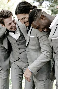 Calling all brides! Get a free made to measure suit when his groom party of four (or more) suit up with @Indochino.