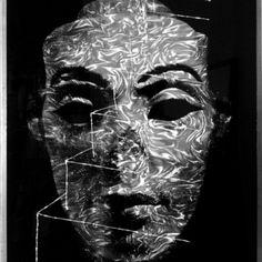Nefer / Treppe, 170 x 135 cm, Mixed Media