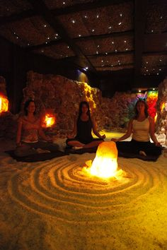 quiet time-Asheville salt cave and spa