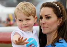 Prince William, Duchess Catherine and Prince George at RAF Fairford                                                                                                                                                      More