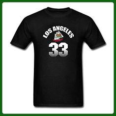 ZLJUN Men's California Clippers is Best Sports, Los Angeles Basketball 33 T-Shirt - Sports shirts (*Amazon Partner-Link)