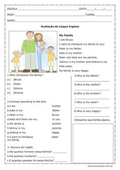 English Today, English Test, English Course, Learn English, Grammar Activities, English Activities, Writing Activities, Learning English For Kids, Teaching English