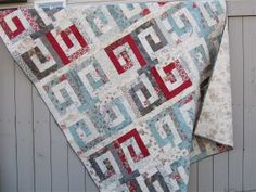 Etchings Quilt-by Andrea Harris This quilt is easy to make... A generous 72 x 84 size will fit a twin or double bed,.