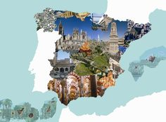 mapa monumentos españa - Buscar con Google