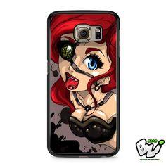 Ariel Mermaid Steampunk Samsung Galaxy S7 Edge Case