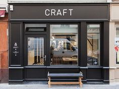 CRAFT in Paris / cafe interior design concept - design eatery