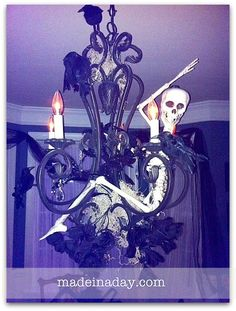 Hang a Skeleton from your Chandelier