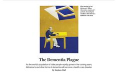The Dementia Plague | Stephen Hall, MIT Technology Review, October 5, 2012, via Ars Technica: