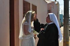 Casamento Mirella amei o vestido e o véu desta noiva!