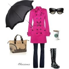 Rainy days, created by obsessionss.polyvore.com