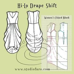 Pattern Puzzle- Hi-Lo Drape Shift