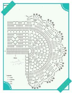 .: Tapete oval em Crochê na Cor Melancia - Variação de receita