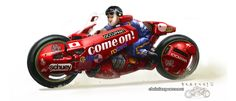 Racing Cafè: Motorcycle Art - Christian Pearce #redesign!