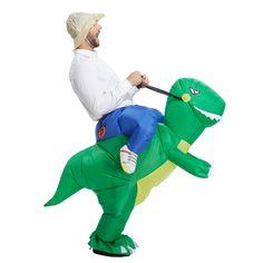 ハロウィンインフレータブル子大人の衣装子供パーティー恐竜ユニコーン女性ハロウィンコスチューム子供のため持ち運び私に乗る衣装
