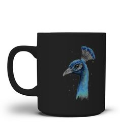 # Peacock Watercolor Mug .  **We Ship Worldwide!**Only available for a LIMITED TIME, so get yours TODAY! Printed in the U.S.A. If you buy 2 or more you will save on shipping!Available in different styles and colors.*Satisfaction Guaranteed + Safe and Secure Checkout via PayPal/Visa/Mastercard*Click the Green Button below and select your size and style from the drop-down menu and reserve yours before we sell out!