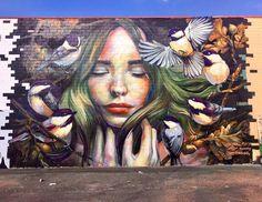 Street Art (Best of. Murals Street Art, Graffiti Art, Mural Art, Urban Graffiti, Fantasy Kunst, Fantasy Art, Pop Art, Urbane Kunst, Amazing Street Art