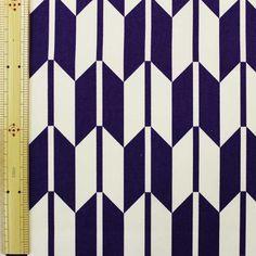 日本伝統文様 矢絣文様 紫 【布地 生地 和柄】【RS1】【M】【楽天市場】