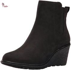 Timberland Amston Chelsea Femmes US 10 Noir Bottine - Chaussures timberland (*Partner-Link)
