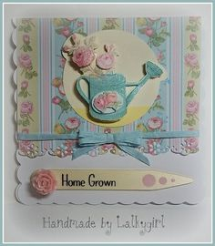 I have made this card using products from the new forget me not range by Dovecraft/Trimcraft Crafts To Do, Paper Crafts, Craftwork Cards, Forget Me Not, Scrapbook Paper, Scrapbooking, My Mom, Wedding Cards, Cardmaking