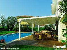 Corradi SA | Patio Awnings | Pergolas | Patio Furniture - Pergolas - Pergotenda® Iridium