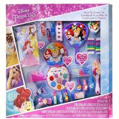 Disney Princess Beauty Set Image 6 of 10 Disney Princess Dress Up, Princess Beauty, Princess Toys, Disney Princesses, Makeup Kit For Kids, Gifts For Girls, Barbie Dolls, Crafts For Kids, Diy