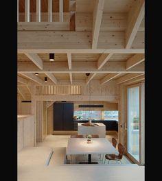 Labyrintisk trävilla fylld med stora och små vrår bild 8