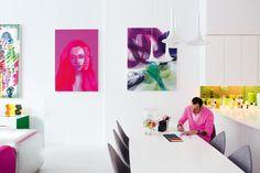 Karim Rashid nella sua casa a New York - Living