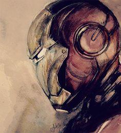 Sketch ironman iron man illustrations artworks...http://naldzgraphics.net/inspirations/new-iron-man-artworks/
