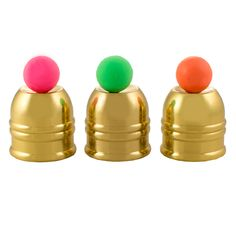 These brass cups for are made for the professional as well as the Cups & Balls enthusiast.